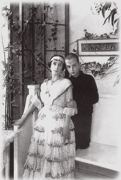 """imperial-russia: """" """"Former ballerina Matylda Krzesinska with her son Vladimir, whose paternity has never been found out with certainty - in any case he was a Romanov by blood, his father being either. Ballet Russe, House Of Romanov, Russian Ballet, Tsar Nicholas, Grand Duke, Imperial Russia, Dance Art, Edwardian Era, Historical Photos"""