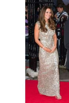 Shining in Jenny Packham at the Tusk Conservation Awards at The Royal Society in London - Getty