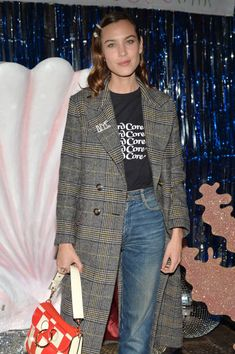 Alexa Chung attends as Project 0 Unemployed Magazine and The London EDITION host a Deep Sea Party to celebrate the launch of Saltt A new line of...