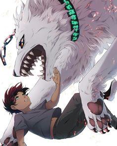 Lumine : Werewolf & Kody : Witch