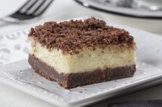 We hope you're ready to fall in love with a new diabetic-friendly dessert because these Bakery Squares are simply perfect. With a homemade chocolate crust and a thick cream cheese layer, it's hard to resist these squares.