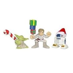 Bespin Luke Skywalker, Yoda, and R2-D2 Stocking Stuffers Star Wars Galactic Heroes