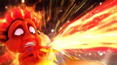 Devil blast, fire, beam, weapon
