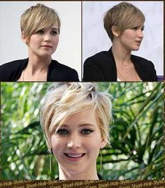 jennifer lawrence short haircut photos | ... this Shoulder Length Hair Style Latest Jennifer Anistonfemale picture