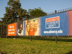 Wind Resistant Outdoor Fence Banners