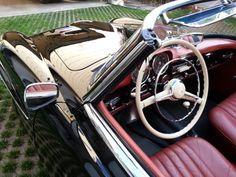 Red Baron  1957 Mercedes-Benz 190SL after 90% restorative detailing