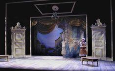Servant of Two Masters Set Design Theatre, Stage Design, Scenic Design, Christmas Settings, Portfolio Design, Art Nouveau, Concept Art, Masters, Interior
