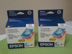 2 Epson T044520 DURABrite Inkjet Cartridge Color Multipack -Cyan/Magenta/Yellow #Epson