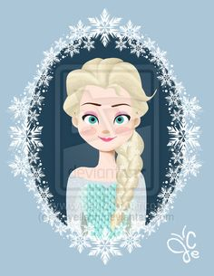 queen elsa comic art - Google Search