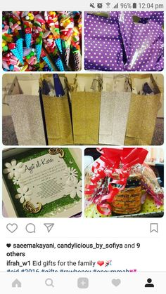 Eid July 2016- all items bought and gifted. Made childrens party bags with toys, party poppers etc