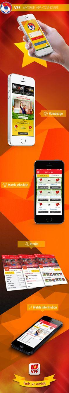 VFF - Mobile app concept by Duc Tran, via Behance