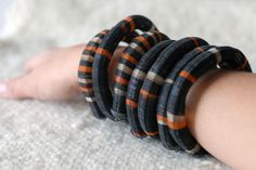 crin Bohemian Jewelry, Wearable Art, Bracelets, Leather, Chile, Beautiful, Craft, Horse Mane, Necklaces