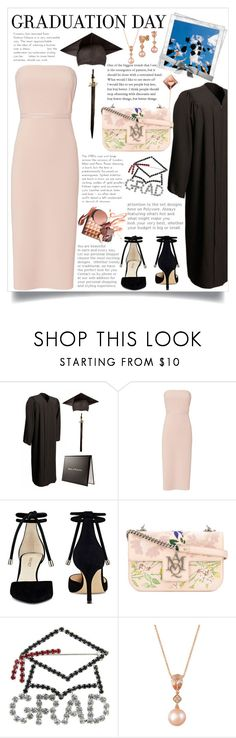 """congrats, grat : graduation day style"" by teto000 ❤ liked on Polyvore featuring Elizabeth and James, Nine West, Alexander McQueen and LE VIAN"