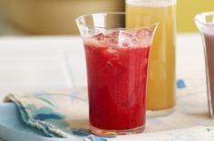 L'association de deux des saveurs estivales les plus appréciées crée une boisson délicieuse et désaltérante.