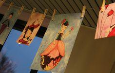 """I disegni di Roberta Briatico: ore passate con i colori per creare quello che non c'è e mostrare ciò che non si vede"""" (Mostra di Roberta Briatico per Omeoart Boiron)"""