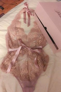 underwear lingerie pink lace pretty gold beautiful bows nude romper lace lingerie jumpsuit baby pink