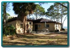 Beachfront rental at Alligator Point, Florida