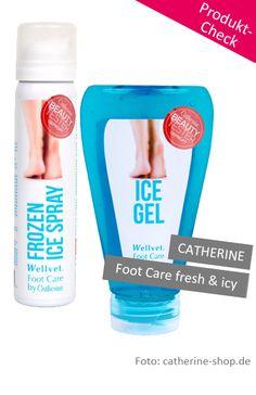 Produkt-Check: Catherine Wellvet Foot Care fresh & icy. Es gibt wieder Neuigkeiten bei #www.konsumgoettinnen.de