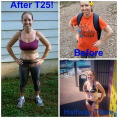 I finished T25 and here are my results!! Who is up for a challenge?! I'm here to help you all get fit! http://momelite.com/t25-final-results-nailed-it/ #Beachbody #T25 #Shakeology