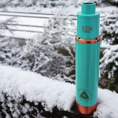 Did everyone enjoy their winter break? Here's a dope shot of our Tiffany blue REMentry sitting pretty on a matching Tiffany blue @limitlessmodco! Thanks for the pic @natevapestoomuch! #remcreations #REMentry #limitlessmod #vapemail #vapedaily #insiv #calivapers - See more at: http://iconosquare.com/viewer.php#/myLikes/list