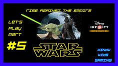 Star Wars. Rise Against The Empire. Let's play part 5. Yoda beats up  Da...