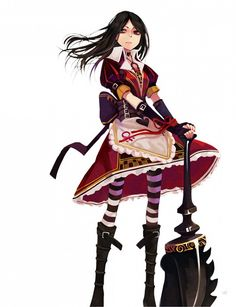 Tags: Anime, Alice in Wonderland, American McGee's Alice, Alice (American McGee's), American McGee's Alice: Madness Returns