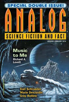 Analog Science Fiction and Fact, January-February 2014