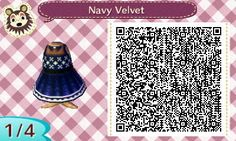 Animal Crossing QR Code blog — I made another dress!!  Hunter, Jayne, and I, as...