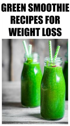 21 Of The Best Green Smoothie Recipes For Weight Loss ! 21 Of The Best Green Smoothie Recipes For Weight Loss ! Clean Eating Menu, Clean Eating Vegetarian, Clean Eating Plans, Clean Eating Challenge, Clean Eating Breakfast, Clean Eating Desserts, Best Green Smoothie, Healthy Green Smoothies, Vegan Smoothie Recipes