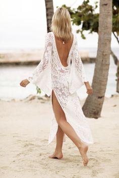 Fashion Inspiration | Lace Maxi Dress