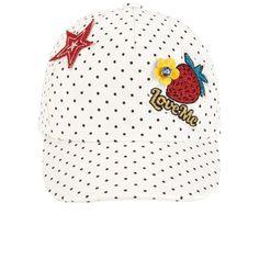 Printed twill cap