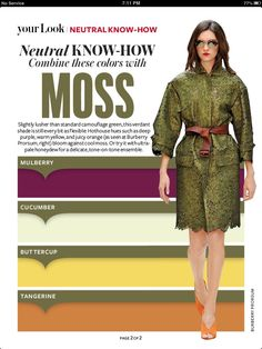 Instyle Magazine - Neutral Know How - Moss