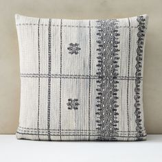 Our Cotton Silk Broken Stripe Pillow Cover plays with abstract lines on a neutral background that really pops against a dark sofa or duvet. Cushion Inserts, Pillow Inserts, Pillow Covers, Modern Throw Pillows, Decorative Pillows, Geometric Pillow, Cotton Silk, Cotton Velvet, Store Design