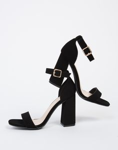 Single Banded Chunky Heels