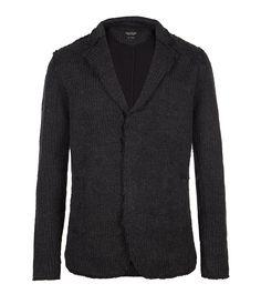 Leon Knitted Blazer, Men, Sweaters, AllSaints Spitalfields