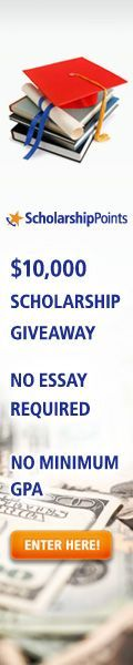 Here are some SUPER EASY College Scholarships that you can apply for in minutes!