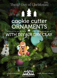The 6th Day of Christmas: Cookie Cutter Ornaments – Evolution of a Mom