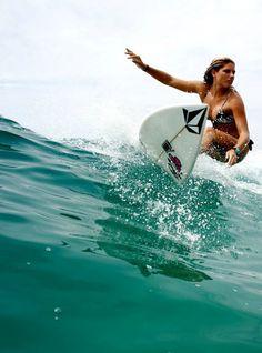 Surf girl... Quincy Davis...