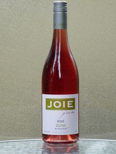 There's no shame in loving rose wine. Joie Rose is the one to talk about.and it's inexpensive. Love Rose, Bottle, Wine, Joy, Flask, Jars