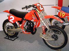 HONDA CR 125 M - 1981