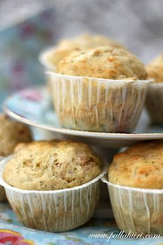 Pullahiiren leivontanurkka: Kinkkumuffinssit Feta, Muffin, Cupcakes, Breakfast, Morning Coffee, Cupcake Cakes, Muffins, Cup Cakes, Cupcake