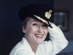 I just adore how genuine this photo of Meryl Streep looks.