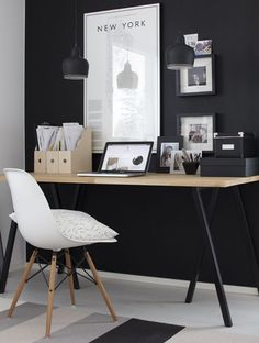 Creating a stylish workspace: Modern ideas for the home office . - Create a stylish workspace: Modern ideas for the home office – - office decor office design office ideas Home Office Space, Home Office Design, Home Office Decor, Modern House Design, Office Ideas, Desk Ideas, Workspace Design, Office Designs, Furniture Ideas
