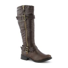 Cleopatra Tyler womens mid calf low heel western/riding boot  $69.99