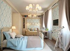 Обои для спальни :: Фото красивых интерьеров