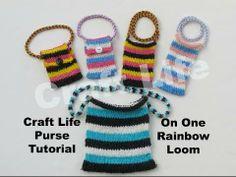 Craft Life Purse Tutorial on One Rainbow Loom
