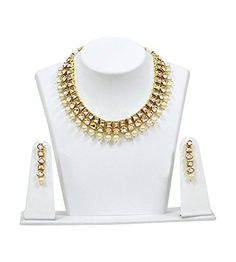 Indian Bollywood Jewelry With Earring Elegant Look White ... https://www.amazon.com/dp/B07B6PDTHT/ref=cm_sw_r_pi_dp_U_x_FIDSAbBD12CFY