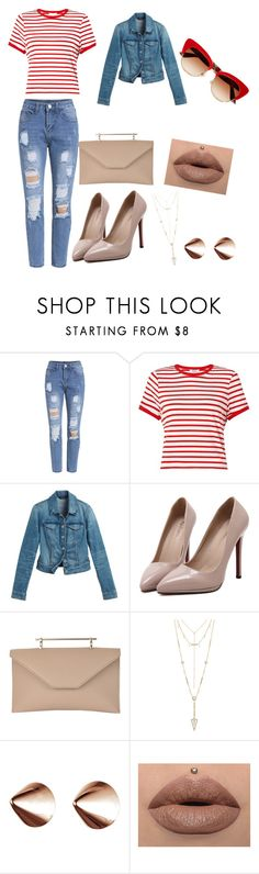 """""""Outfit.16."""" by bea-palaio ❤ liked on Polyvore featuring Miss Selfridge, White House Black Market, WithChic, M2Malletier, House of Harlow 1960, Eddie Borgo and Dolce&Gabbana"""