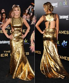Jennifer Lawrence was definitely the girl on fire at the LA premiere of #HungerGames Jennifer Girl was definitely on fire last night.     Jennifer was one of our 7 Fresh Faces in Film co-hosted by 7 For All Mankind at the 2010 Sundance Festival.