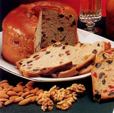 Pan de Pascua!!! The Chilean version of Christmas fruitcake! Word to the wise, check if the cake has rum in it BEFORE you buy it...